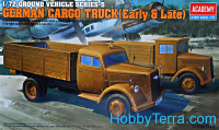 WWII Ground vehicle series. German cargo trucks (early and late)