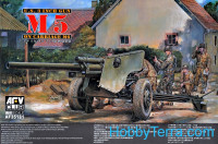 105mm Howitzer M5 Carriage M6