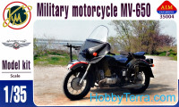 MV-650 military motorcycle