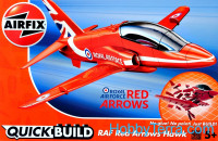 RAF Red Arrows Hawk. QuickBuild