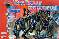 War Trolls for catapult, set 4