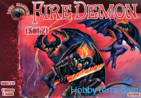 Fire Demon, set 2