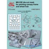 Painting masks for MH-53E, for Italeri kit