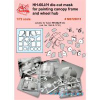 Painting masks 1/72 for Italeri HH-60J/H