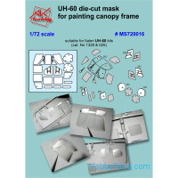 Painting masks 1/72 for Italeri UH-60 kit