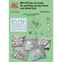 Painting masks 1/72 for Italeri MH-47E kit