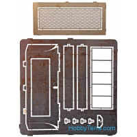 Photo-etched set 1/35 Grilles for T-34 tank