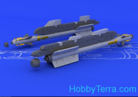 Brassin 1/48 R-73 / AA-11 Archer missile, for Tamiya kit