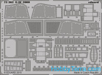 Photo-etched set 1/72 E-2C 2000 S.A, for Hasegawa kit