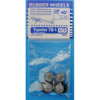 Rubber wheels for Tupolev TB-1