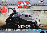 Sd.Kfz.223 light armored car (Snap fit)