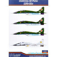 Decal 1/48 Moldovan Air Force MiG-29s