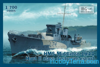 HMS Middleton 1943 Hunt II class destroyer escort