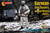 WWII German elite infantry, winter dress