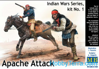 Apache Attack. Indian Wars Series, kit No.1