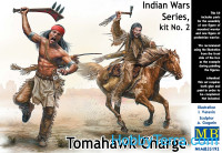 Tomahawk Charge. Indian Wars Series, kit No.2