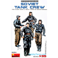 Soviet tank crew (for Flame Tanks & Heavy Tanks of Breakthrough)
