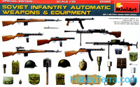 Soviet infantry automatic weapons & equipment. Special edition