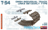 T-54 OMSh Individual Track Links Set, early type