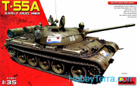 Soviet medium tank T-55A model 1965, early production