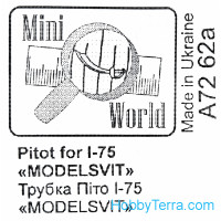 Pitot for I-75, for Modelsvit 72029 kit
