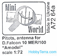 Antenns for Falcon-10MER, for Amodel 72340 kit