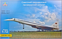 Tu-144 Supersonic airliner FREE SHIPPING
