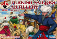 Turkish sailors artillery, 16-17th century
