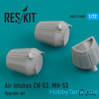 Upgrade Set Air Intakes for CH-53, MH-53 (3 pcs)